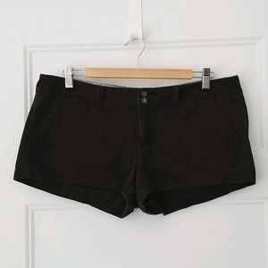 2 FOR $30 American Eagle Black Suede Shorts
